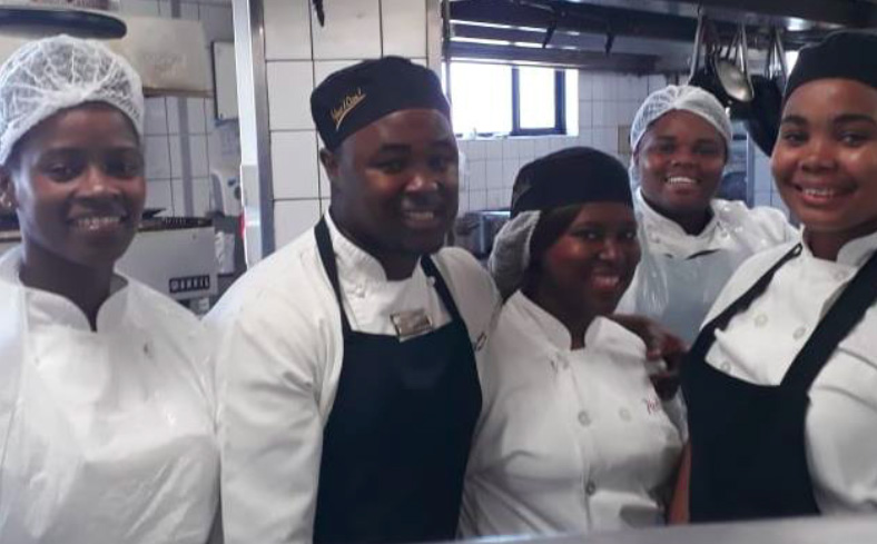 Ray Mhlaba Students take over Radisson Blu Kitchen
